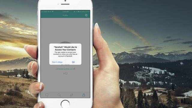 Anonymous Message App Sarahah Might Compromise Your Contacts