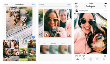 Instagram Now Allows Users to Post Multiple Landscape or Portrait Photos, Videos
