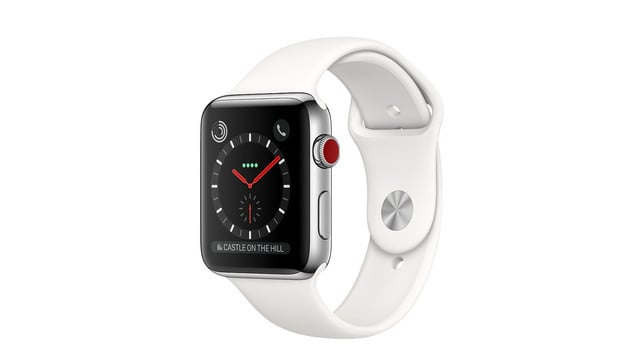 Apple Watch Series 3 in Stainless Steel, Ceramic Only Available with Cellular