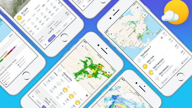 The New Weather Atlas App is Ready for the 'iPhone 8'