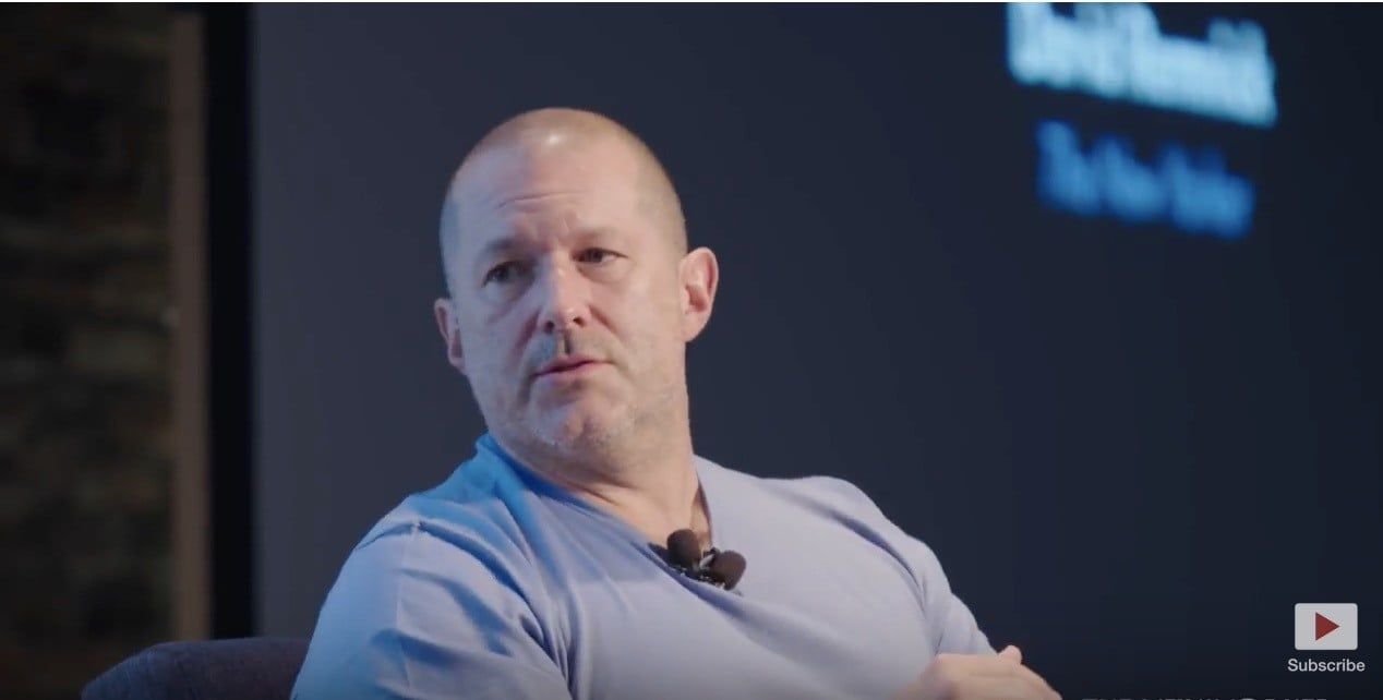 Jony Ive's New Yorker Interview