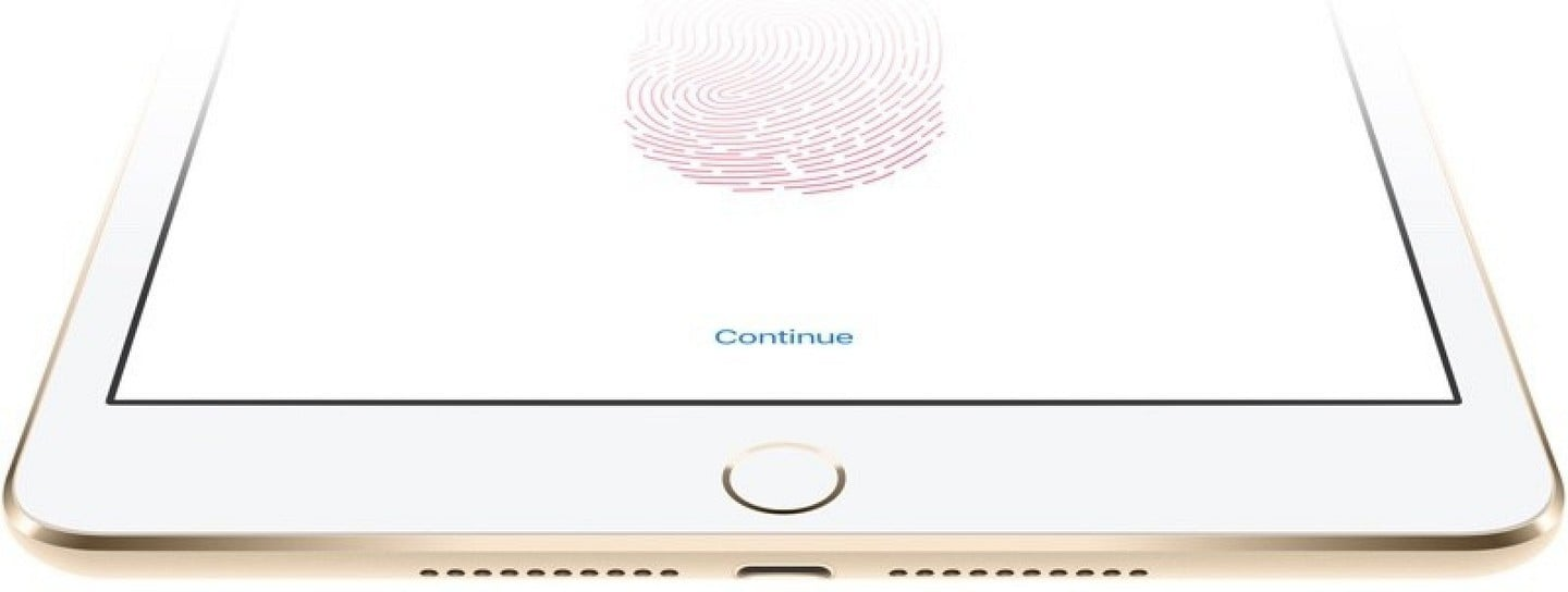 Touch ID system