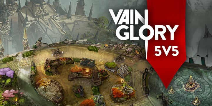 The massive Vainglory 5v5 MOBA is coming soon, encouraging players to preregister early