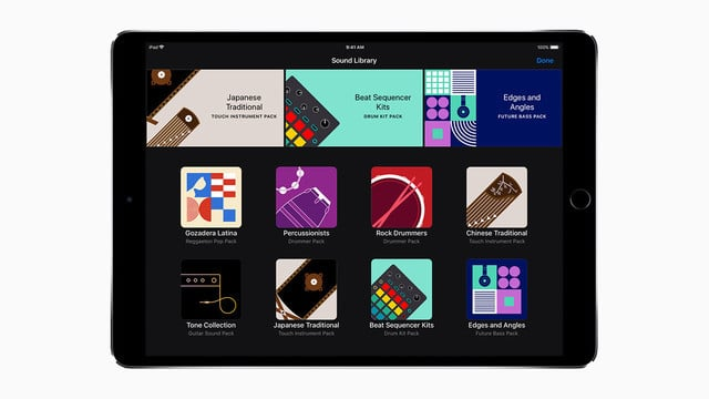 GarageBand for iOS Update Brings a New Sound Library and More