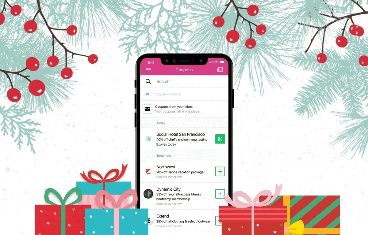 Yahoo Mail Coupons Arrive Just in Time for the Holidays