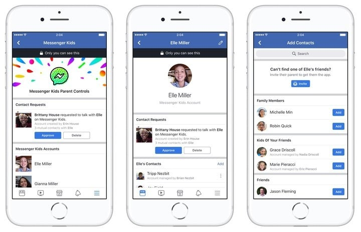 Facebook Launches Messenger Kids for Your Little Ones to Stay in Touch