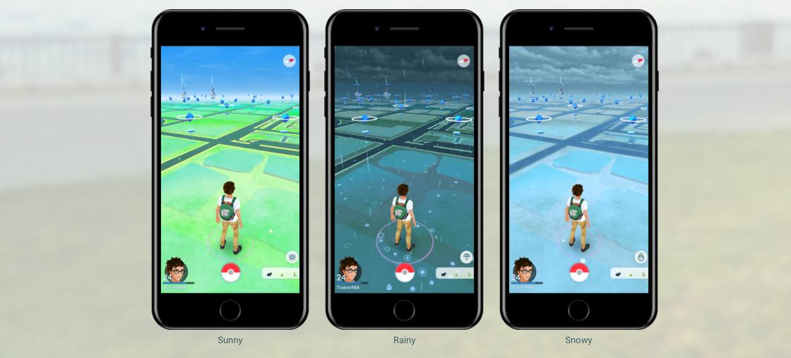 photo image Pokémon Go Adds Dynamic Weather, 50 New Pokémon to Catch