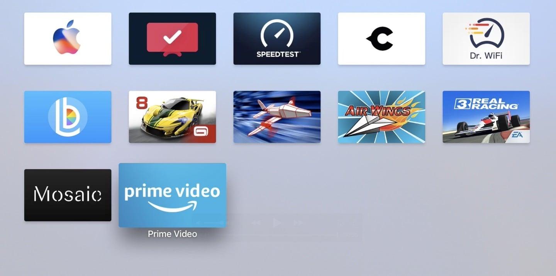 Amazon Prime Video on Apple TV