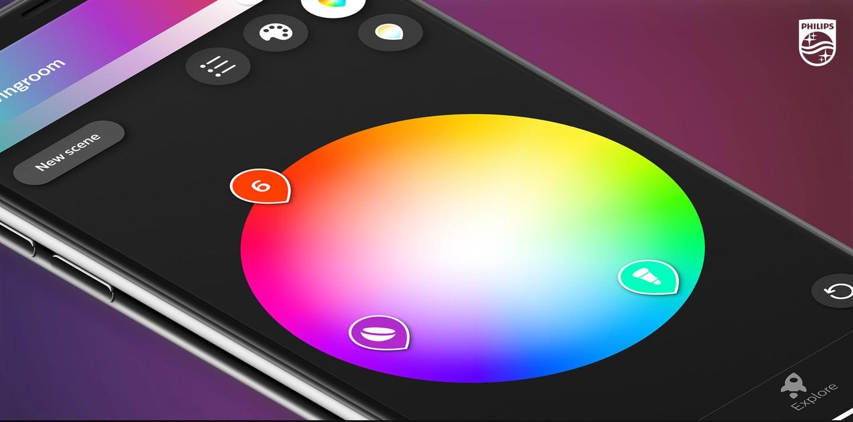 Hue app redesign