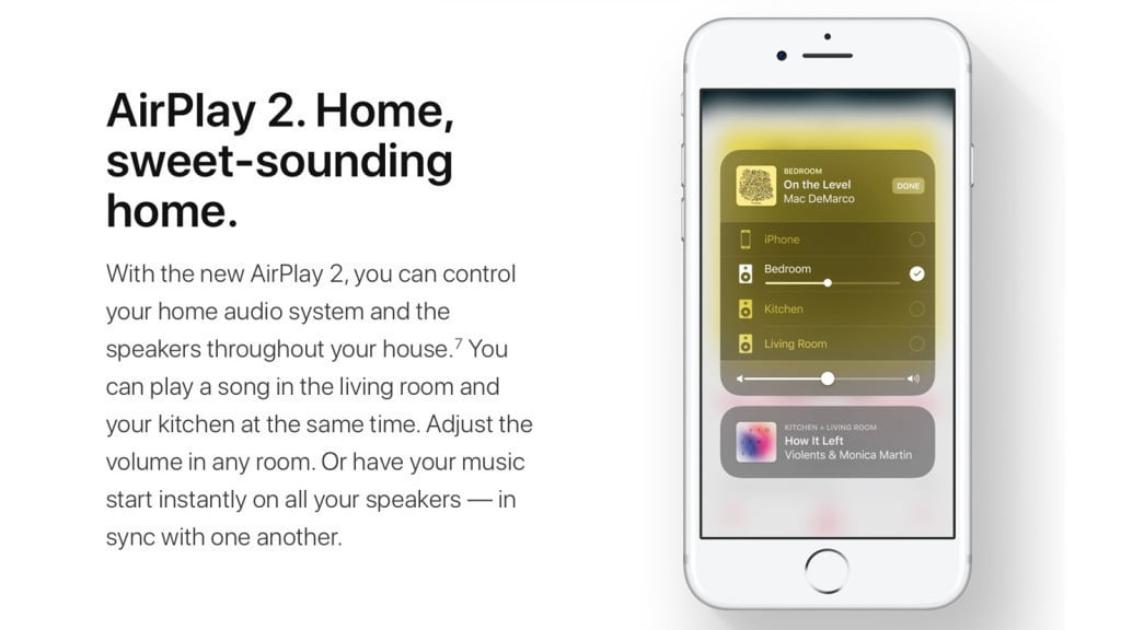 Apple AirPlay 2 delayed