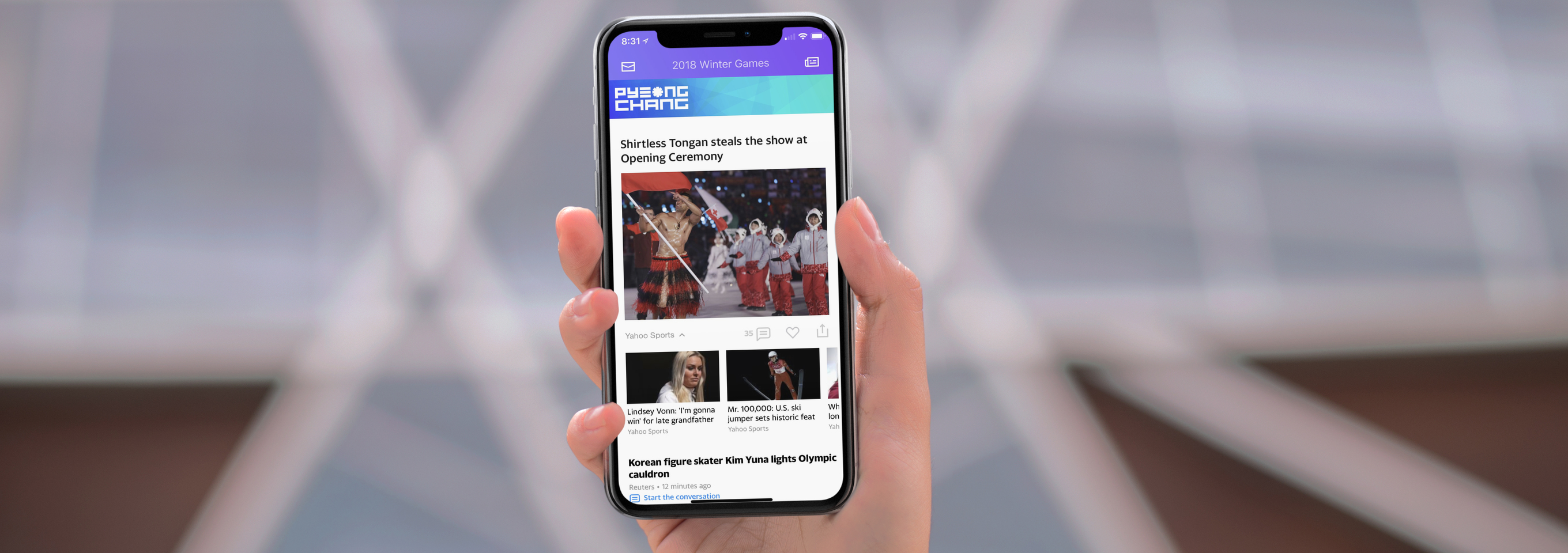 Yahoo Mail Gets Into the Winter Olympics Spirit With Great Tools for Fans