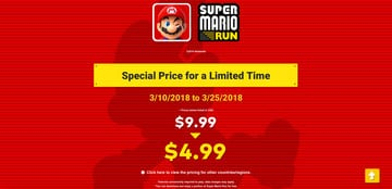 Nintendo Will Soon Discount Super Mario Run by 50 Percent