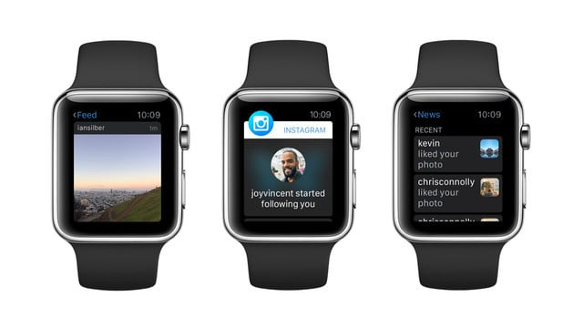 Instagram Removes its Apple Watch App