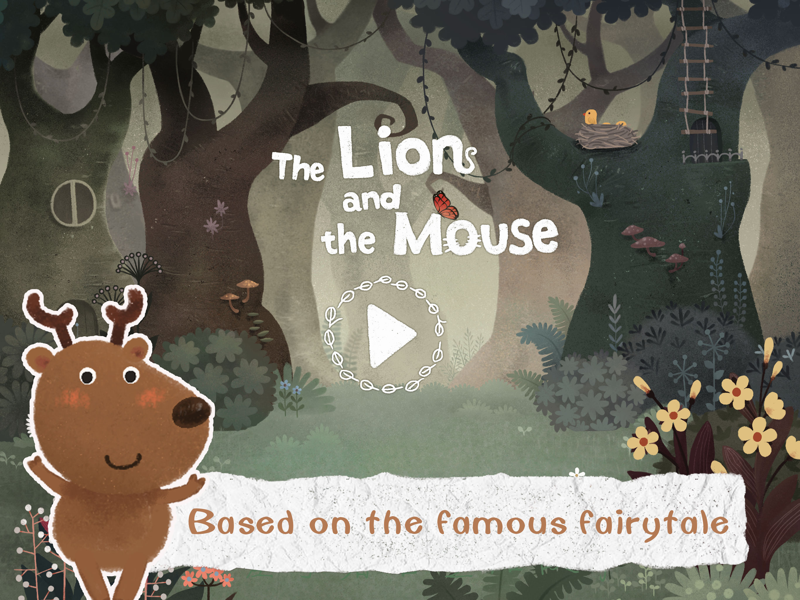 Lion & Mouse - Orchestra Helps Kids Build an Adorable Troop of Animal Musicians