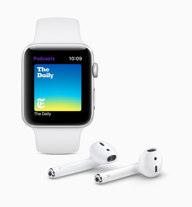 The Podcast app is making its way to the Apple Watch.