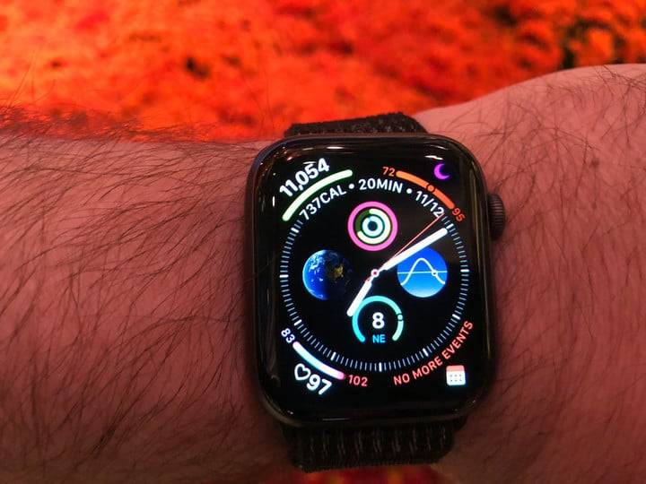The Apple Watch Series 4 has been a great companion in Las Vegas, including the colorful Bellagio Conservatory.