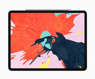 Apple Unveils the New iPad Pro With Slim Bezels, Face ID