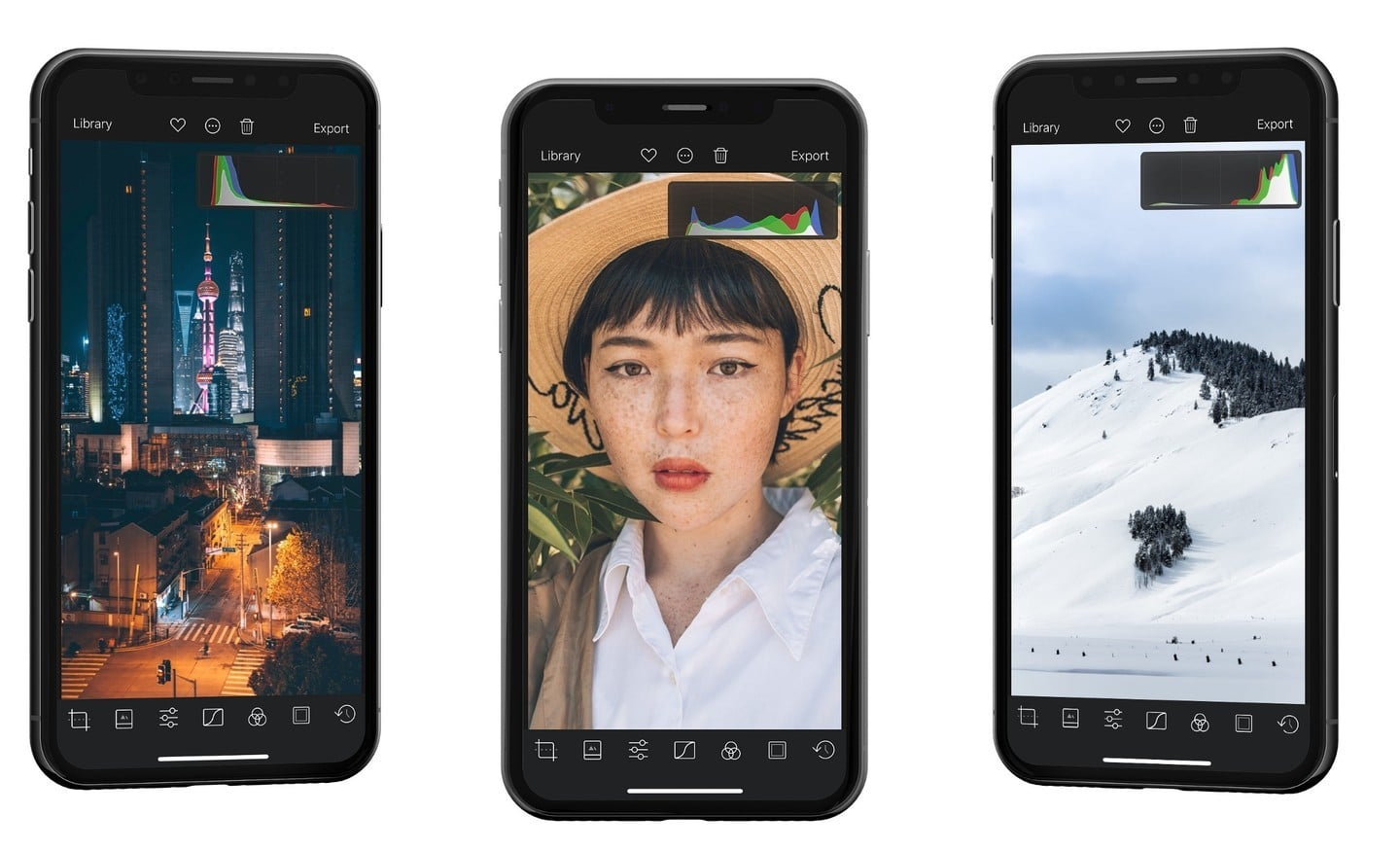 Histograms Come to Photo Editor Darkroom in a New Update