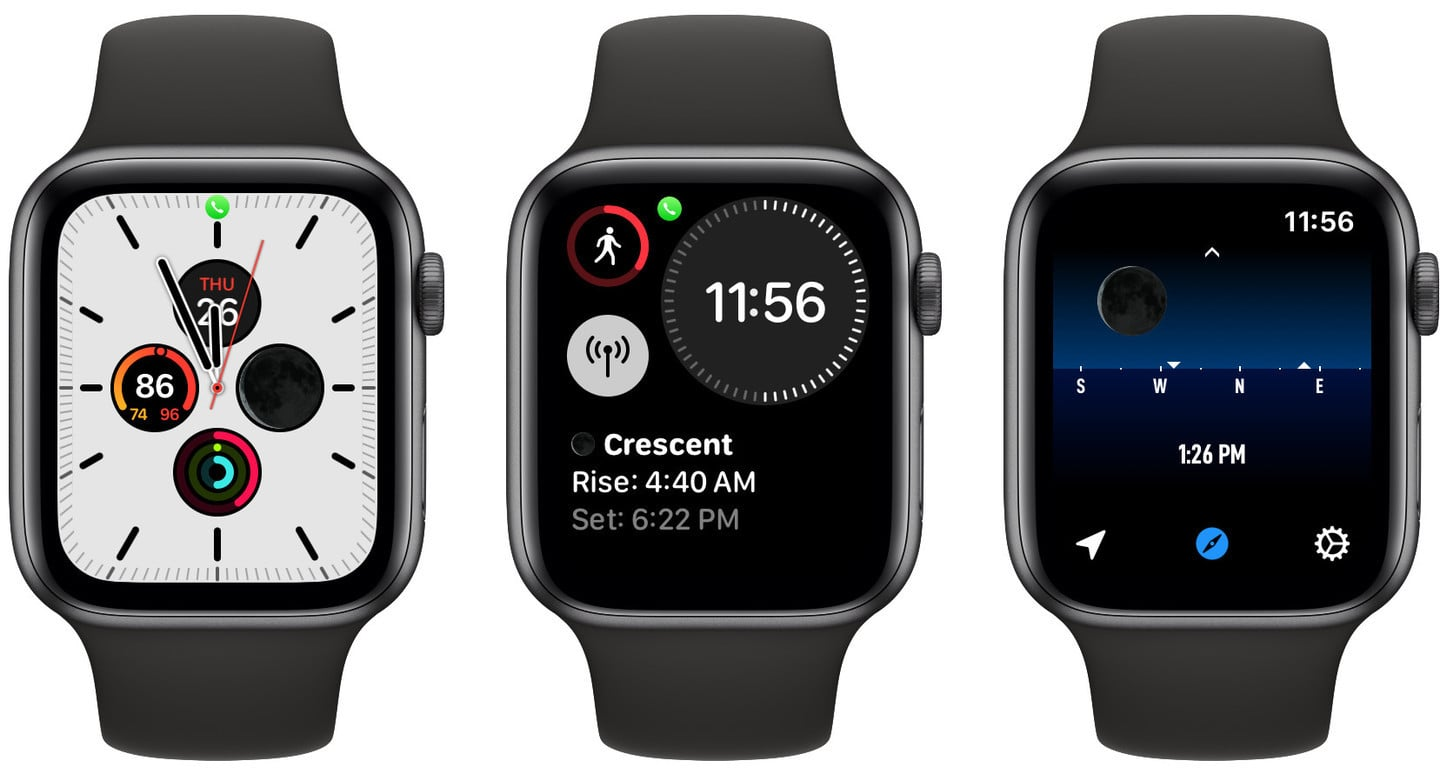 Moon++ Provides a Truly Accurate Lunar Complication for Apple Watch