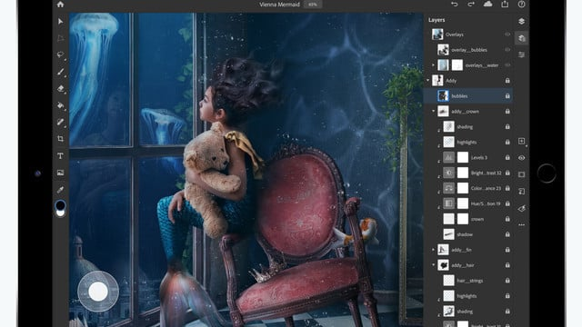 Adobe Photoshop Arrives for iPad
