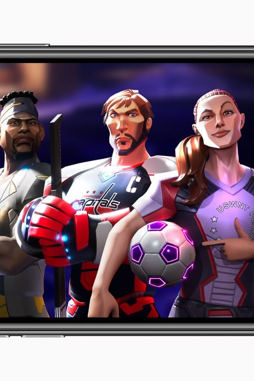 Apple Arcade Lands a New Ultimate Rivals Sports Game Franchise