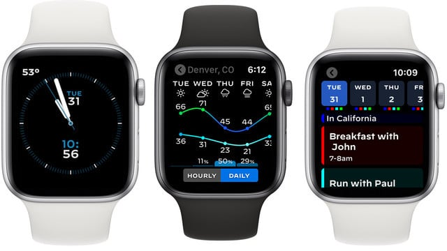 Watchsmith Features Dynamic Complications for Apple Watch