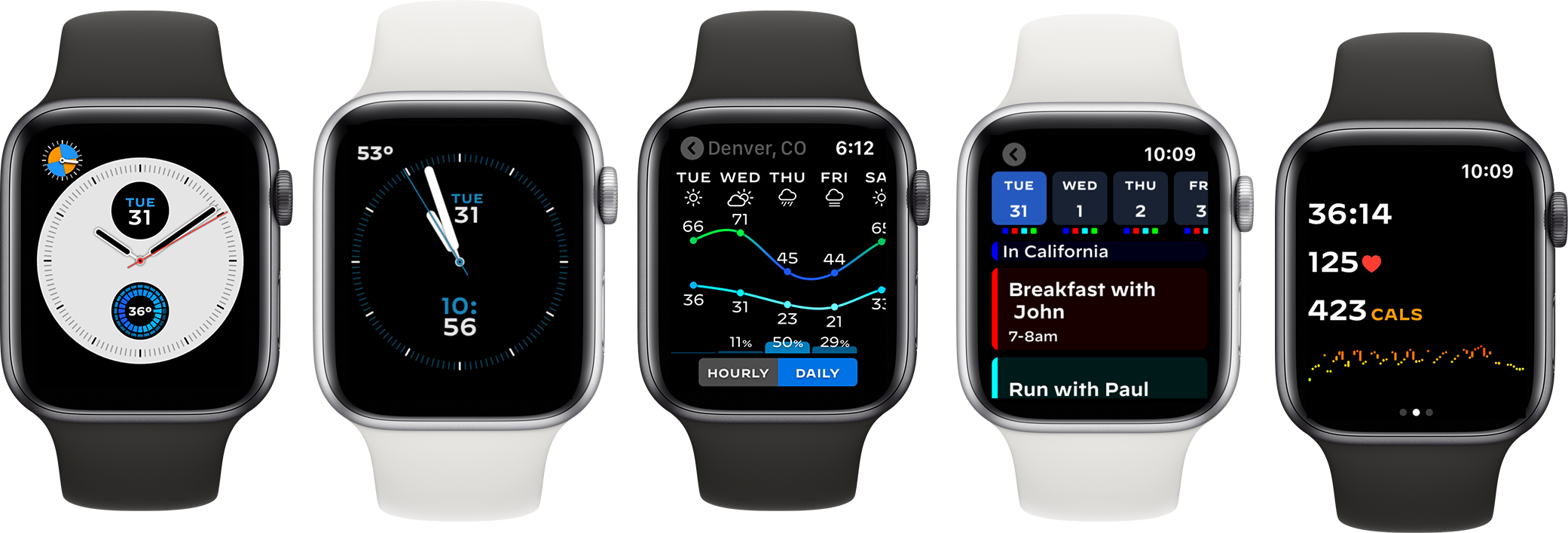 photo of Watchsmith Features Dynamic Complications for Apple Watch image
