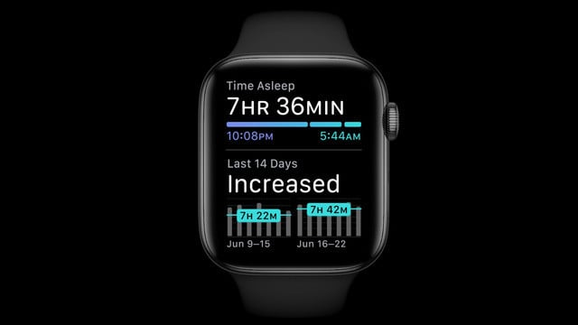 watchOS 7 Features Sleep Tracking, Face Sharing, and More