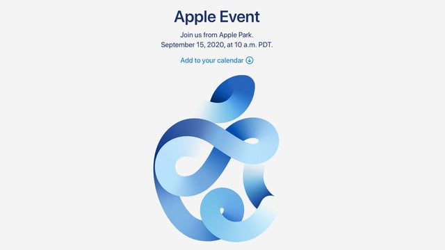 Apple Sets a September 15 Media Event