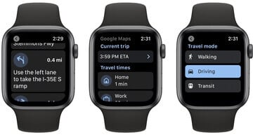 Google Maps Makes a Return to Apple Watch