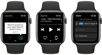 Spotify Streaming Apparently Rolling Out to Apple Watch Users