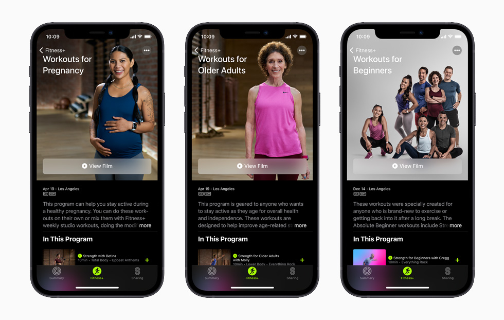 New workouts, trainers and more coming to Apple Fitness +