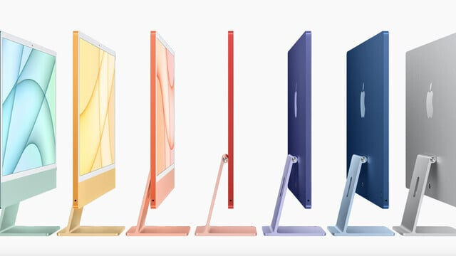 The New iMac Lineup is Fast and Colorful