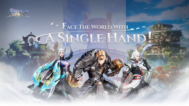 One-Handed MMO Perfect World: Revolution Pre-Registrations Go Live