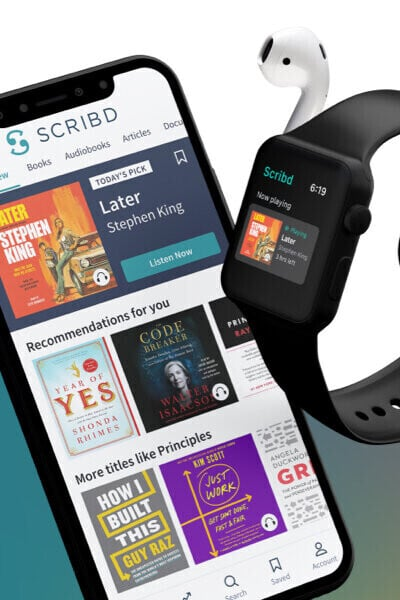 Audiobook App Scribd Lands on the Apple Watch