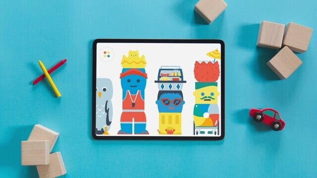 Amazing Kids App Pok Pok Playroom Updated With Silly Blocks: Summer