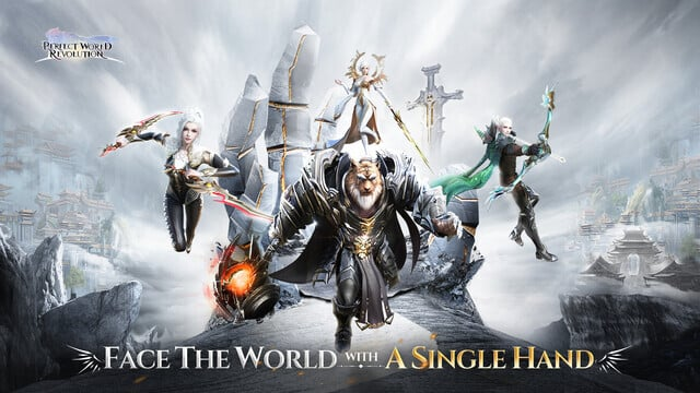 Perfect World: Revolution is a Fantastic Vertical MMORPG, Out Now on Mobile