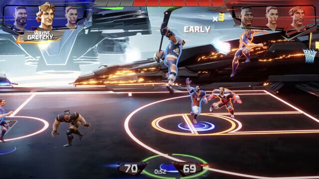 Hit the Hardwood in the New Apple Arcade Game Ultimate Rivals: The Court