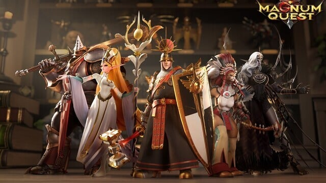 A Look At The Heroes in Magnum Quest