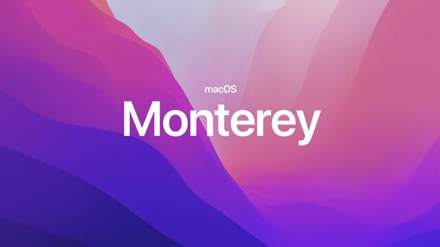macOS Monterey Officially Arrives Next Monday, Oct. 25