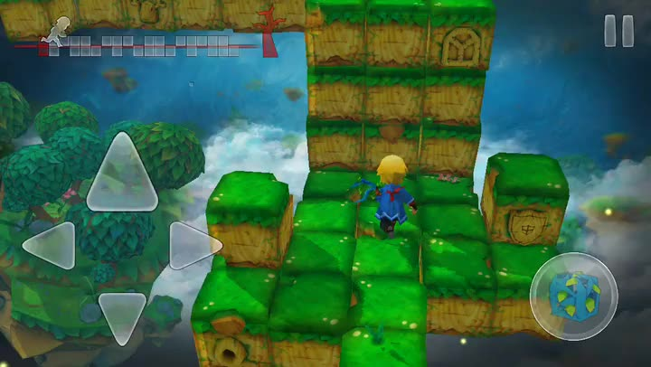 Race against the clock to restore balance to the world in Almightree: The Last Dreamer