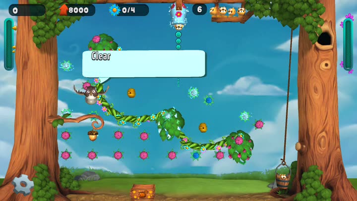 Show off your green thumb and pachinko skills in Flowerpop Adventures