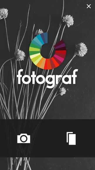 Fotograf from Nevercenter is a photo editing app that delivers classy results