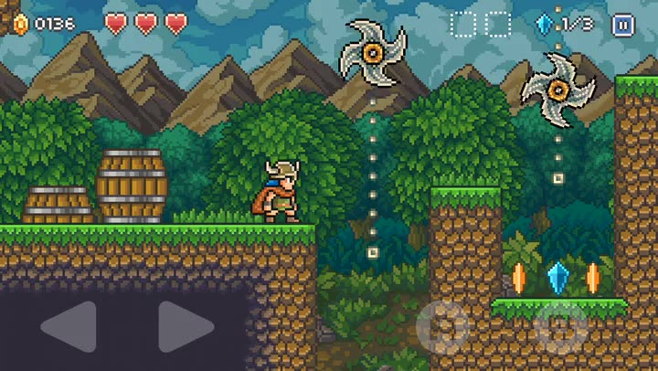 Save the town from an evil wizard in Goblin Sword, an epic action platformer for iOS