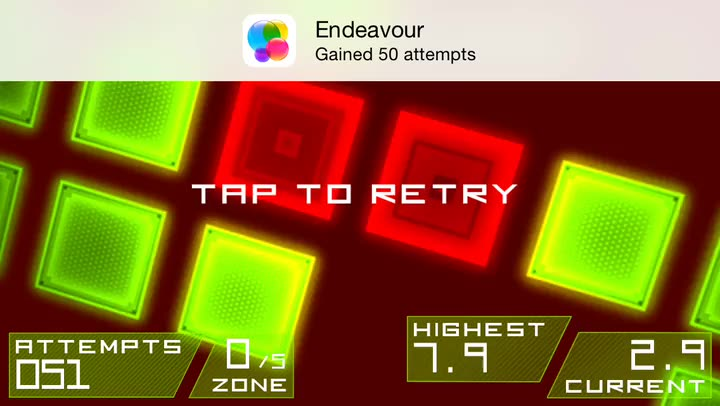 Are you fast enough to survive in Hyper Trip, an intense twitch reflex game?