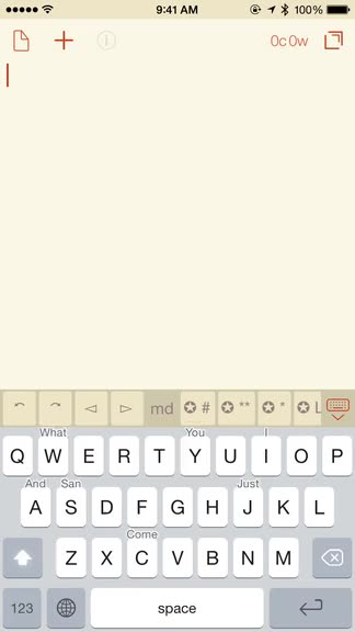 Crimson Keyboard is like the native iOS keyboard, but better