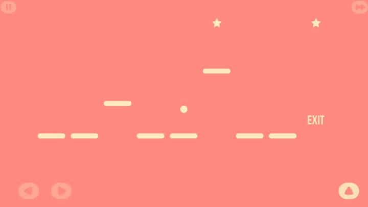 Think before you leap in Jump, a challenging logical puzzler