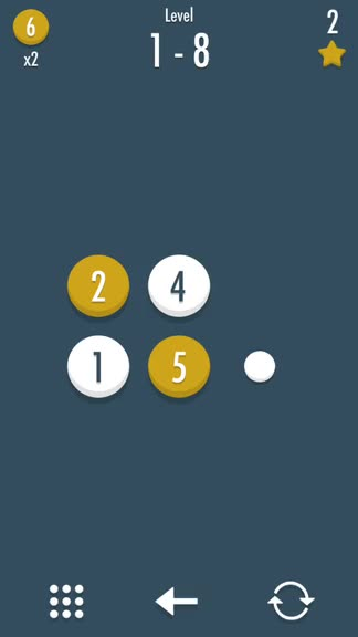 Give your brain a workout with Noda, a challenging math puzzle