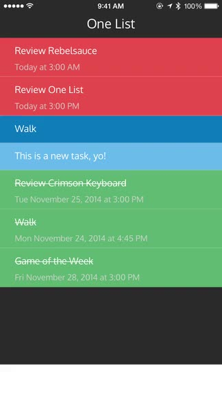 Prioritize your tasks in One List with this simple new app