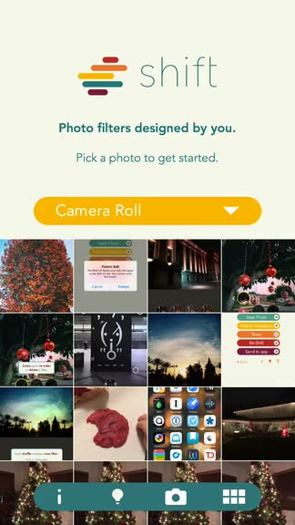 Personalize your photos with unique, custom filters in Shift, the new app from Pixite